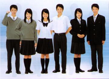 享栄高等学校制服画像