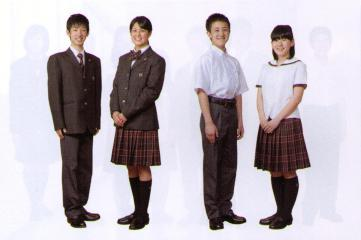 清林館高等学校制服画像